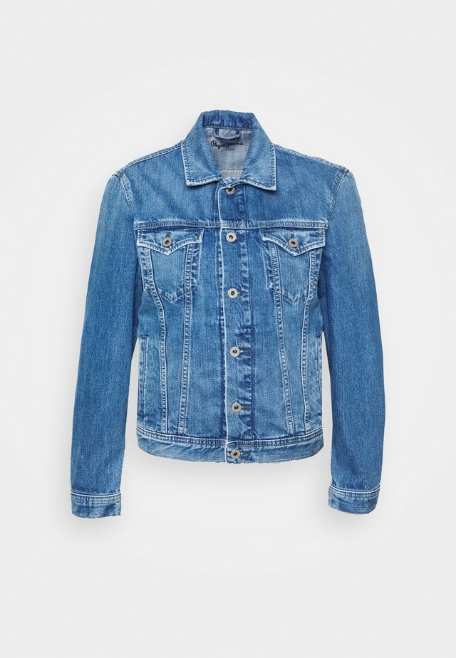 ROSE JACKET - Džínová bunda - denim