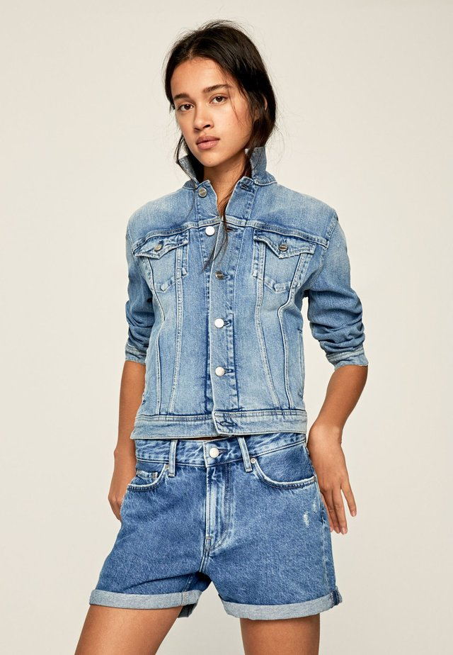 ROSE  - Kurtka jeansowa - blue