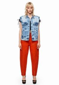 Pepe Jeans - DUA LIPA X PEPE JEANS  - Smanicato - blue denim - 1