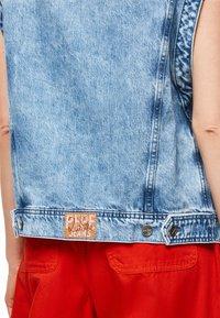 Pepe Jeans - DUA LIPA X PEPE JEANS  - Smanicato - blue denim - 4