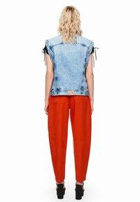 Pepe Jeans - DUA LIPA X PEPE JEANS  - Smanicato - blue denim - 2