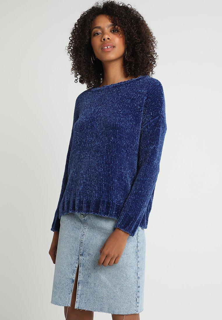 Pepe Jeans - SILKE - Strickpullover - blue