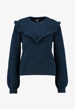 COQUETA - Stickad tröja - volga blue