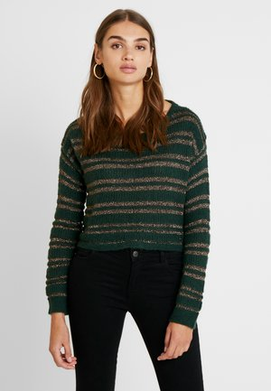 LUXBRETONE - Strickpullover - forest green