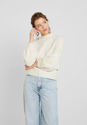 CLOTILDE - Strickpullover - candle