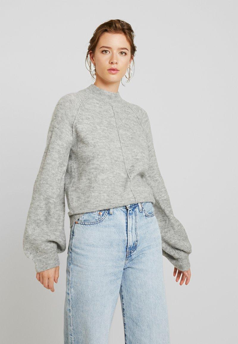 Pepe Jeans - CLOTILDE - Jumper - light grey melange