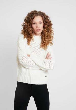 HELAIA - Sweter - ecru