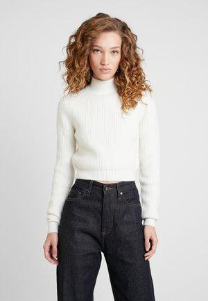 DUA LIPA X PEPE JEANS - Sweter - white