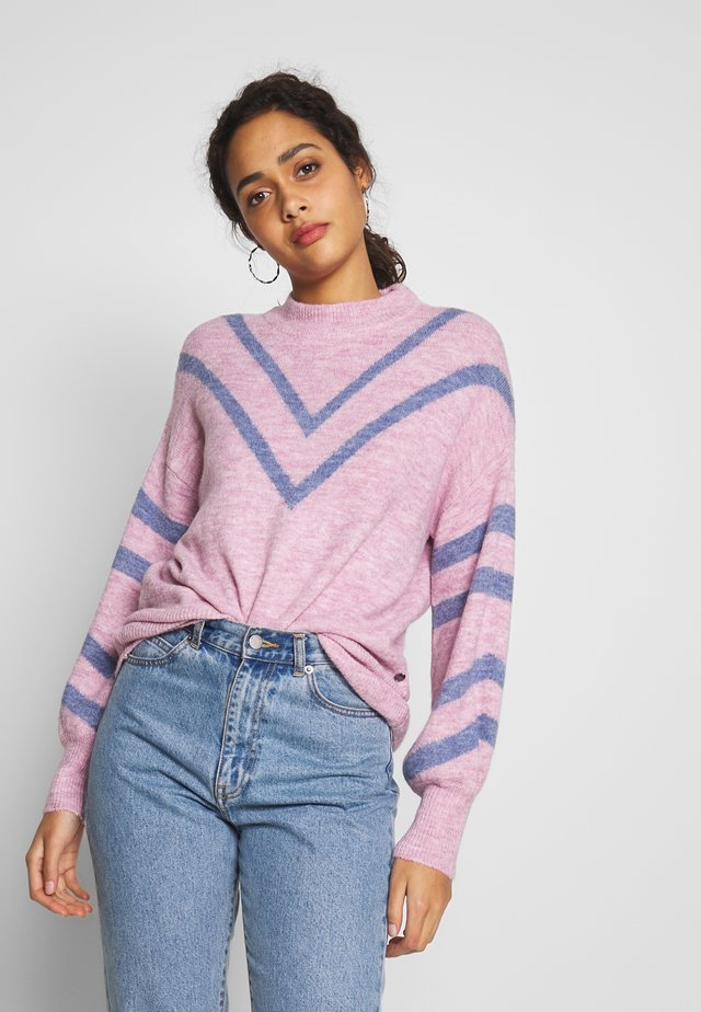 KLAIRE - Sweter - powder pink