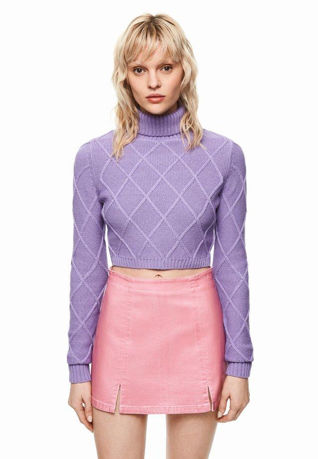 DUA LIPA X PEPE JEANS  - Sweter - violet