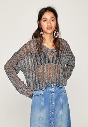 ERICA - Pullover - silver