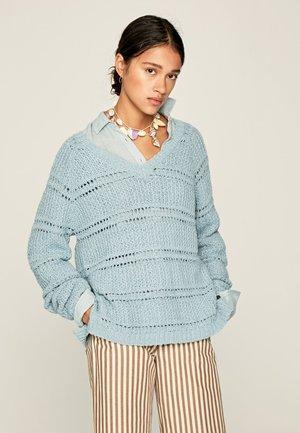 SAFARI - Jumper - light blue