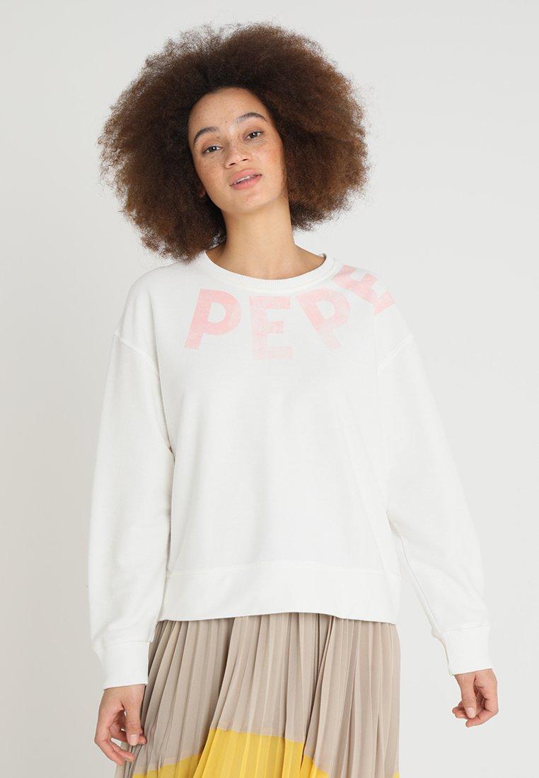 Pepe Jeans - PRIMROSE - Sudadera - 810canvas white