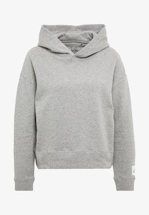 DUA LIPA X PEPE JEANS - Jersey con capucha - grey