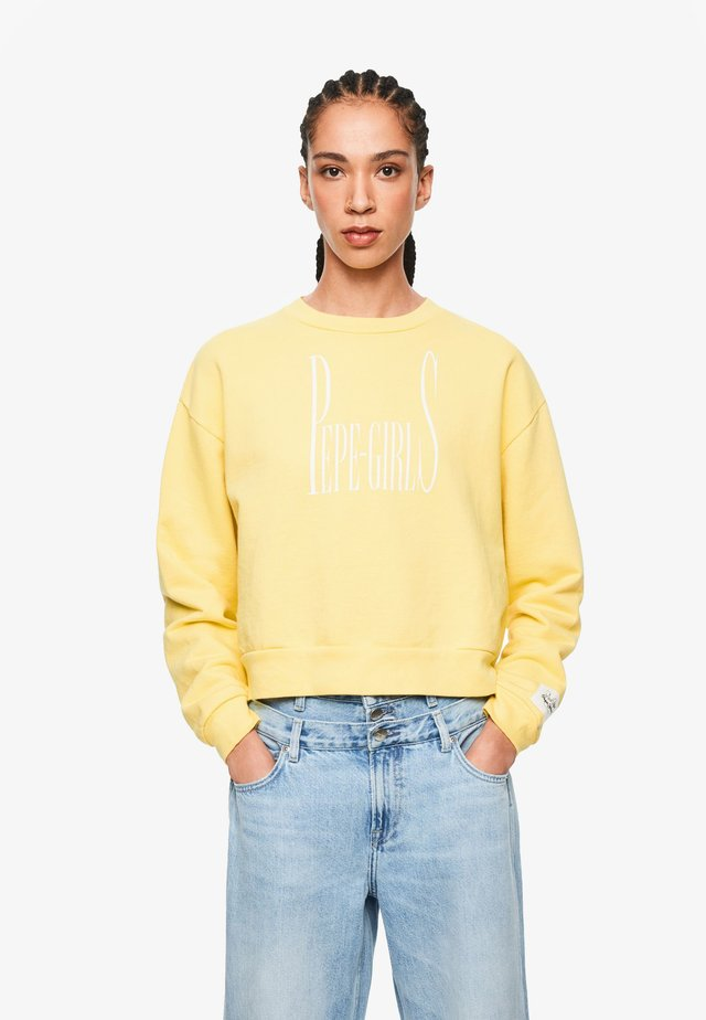 DUA LIPA X - Sweatshirt - lemon