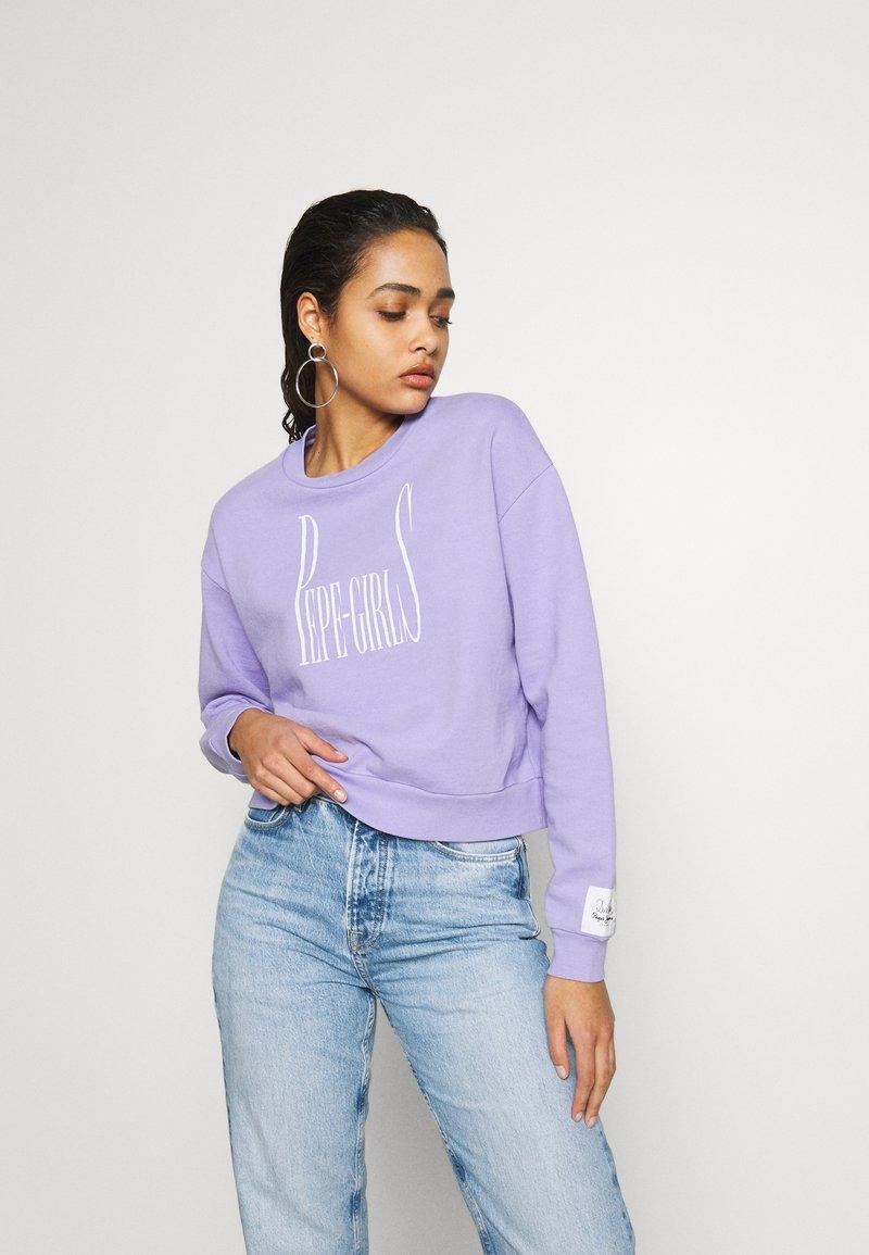 Pepe Jeans - DUA LIPA X - Bluza - violet