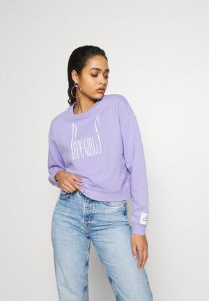 DUA LIPA X PEPE JEANS  - Sweater - violet