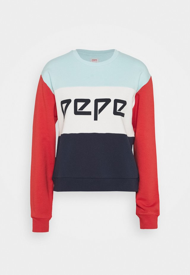 Sweatshirt - pale blue