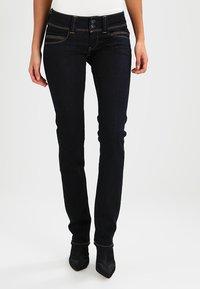 Pepe Jeans - VENUS - Džíny Straight Fit - dark denim - 0