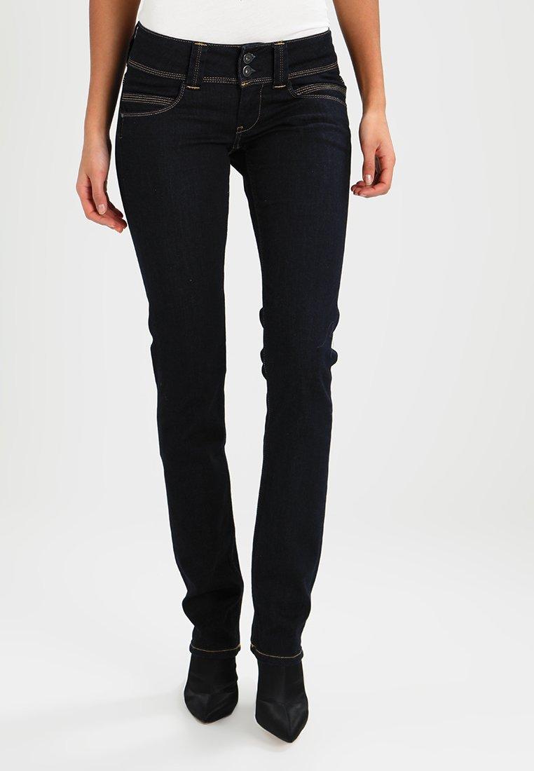 Pepe Jeans - VENUS - Džíny Straight Fit - dark denim