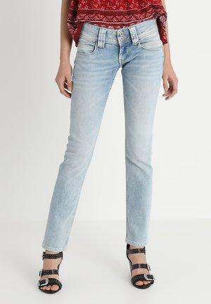 VENUS - Jeans straight leg - light-blue denim