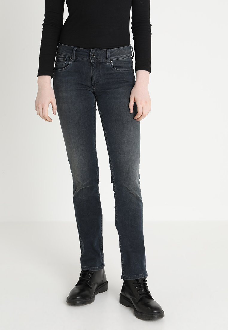 Pepe Jeans - HOLLY - Jeans Straight Leg - dark blue denim