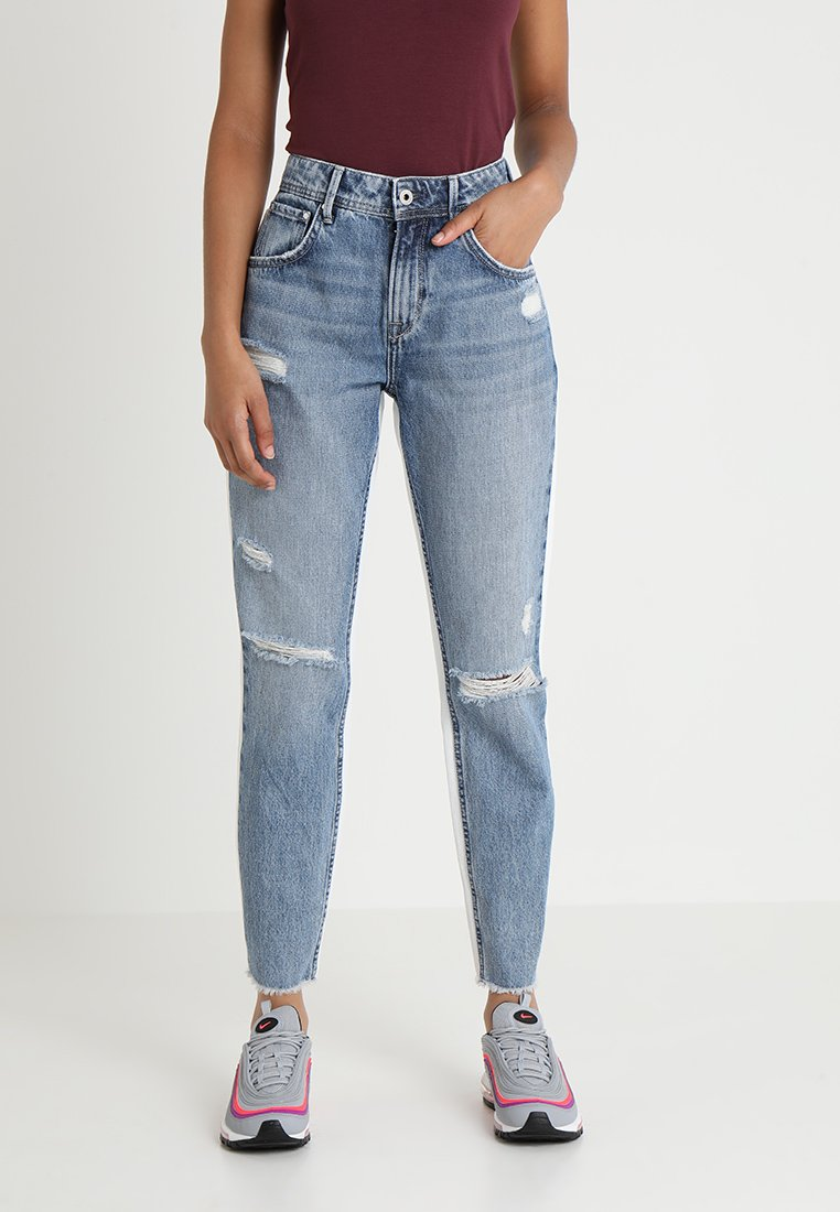 Pepe Jeans - VIOLET  - Jeans Relaxed Fit - blue denim