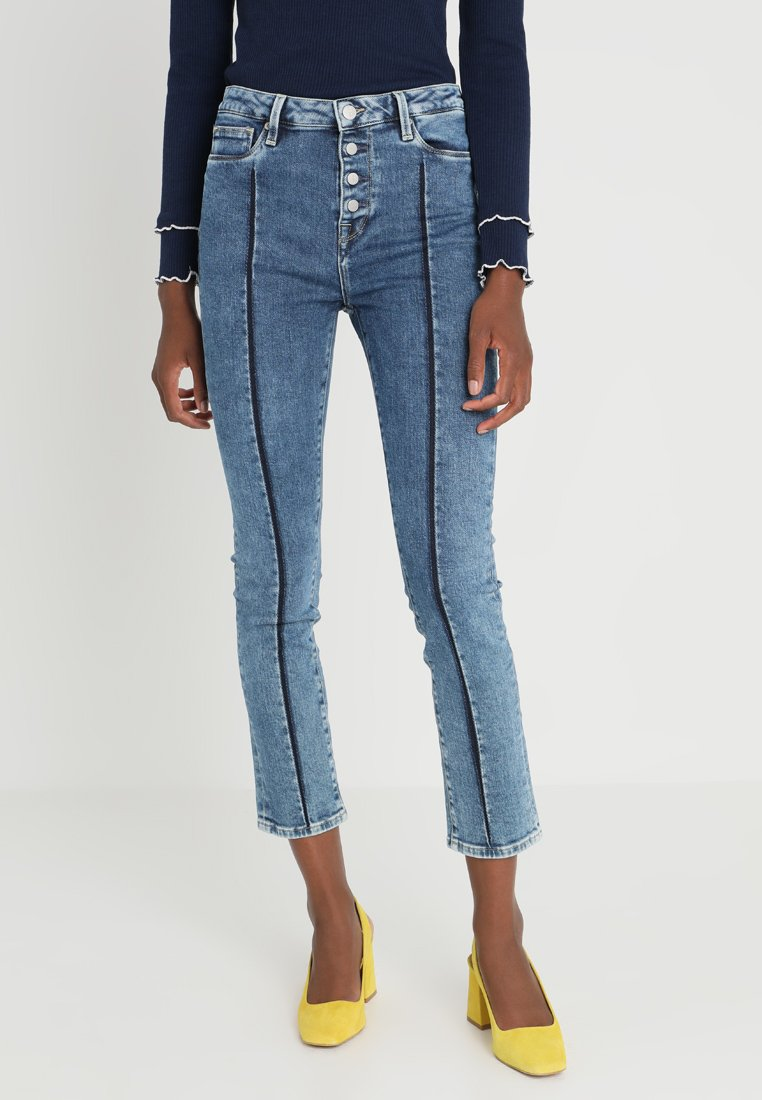 Pepe Jeans - DION 7/8 BUTTONED - Jeans Skinny Fit - denim