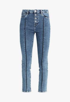 DION 7/8 BUTTONED - Jeans Skinny Fit - denim