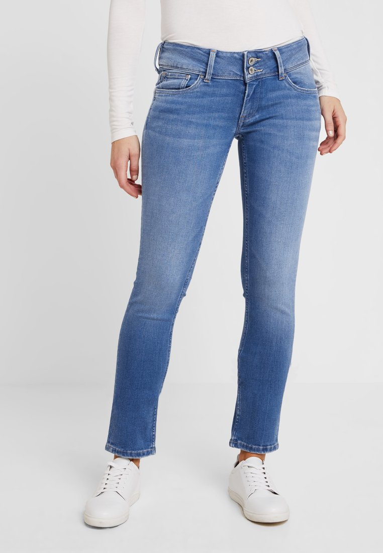 Pepe Jeans - LADIES EDITION PANT - Jeans Slim Fit - blue denim