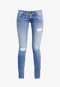 Pepe Jeans - LADIES EDITION PANT - Jeans slim fit - destroyed denim - 3