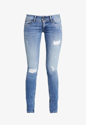 LADIES EDITION PANT - Slim fit jeans - destroyed denim