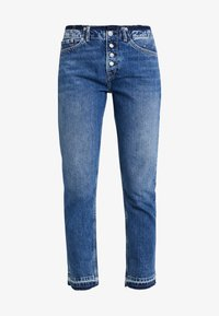 Pepe Jeans - MARY REVIVE - Džíny Relaxed Fit - denim 110z archive mid blue - 4