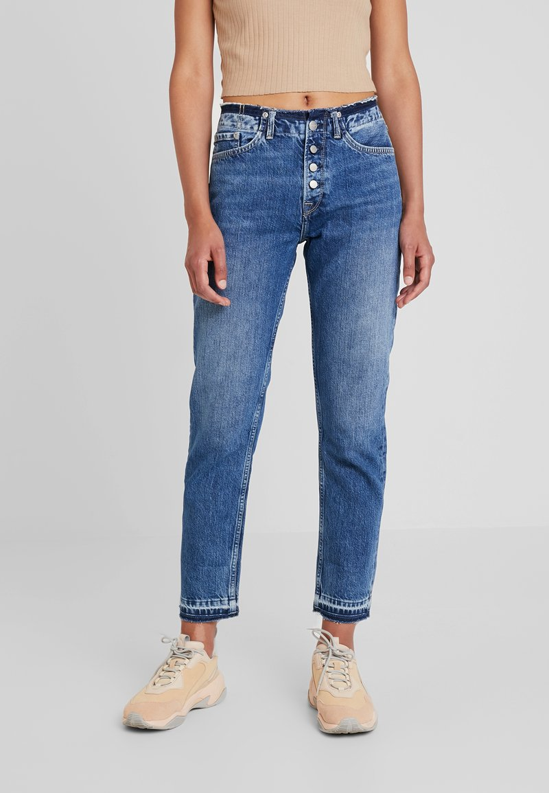 Pepe Jeans - MARY REVIVE - Džíny Relaxed Fit - denim 110z archive mid blue
