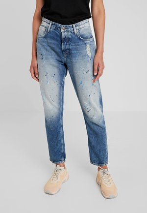 BRIGADE DLX - Jean boyfriend - denim 11oz painted selvedge