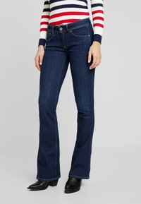 Pepe Jeans - PIMLICO - Flared Jeans - denim rinsed - 0