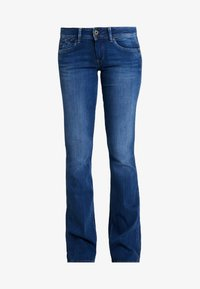 Pepe Jeans - PIMLICO - Flared jeans - denim dark used - 4