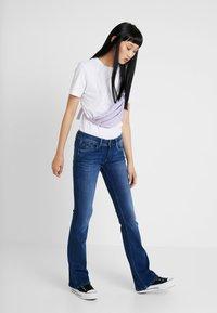 Pepe Jeans - PIMLICO - Flared Jeans - denim dark used - 1