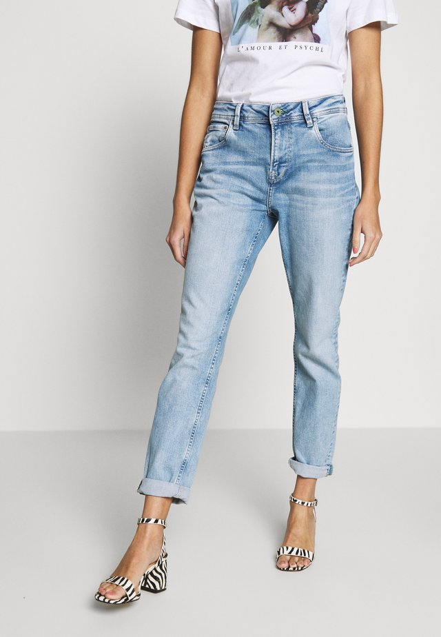VIOLET - Jeansy Relaxed Fit - denim