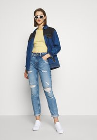 Pepe Jeans - VIOLET - Jeansy Relaxed Fit - destroyed denim - 1
