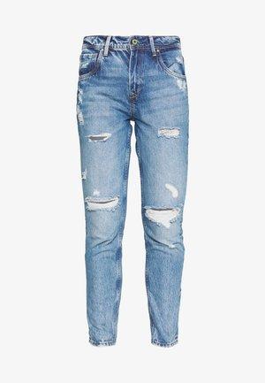 VIOLET - Jeans baggy - destroyed denim