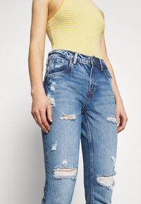 Pepe Jeans - VIOLET - Jeansy Relaxed Fit - destroyed denim - 3