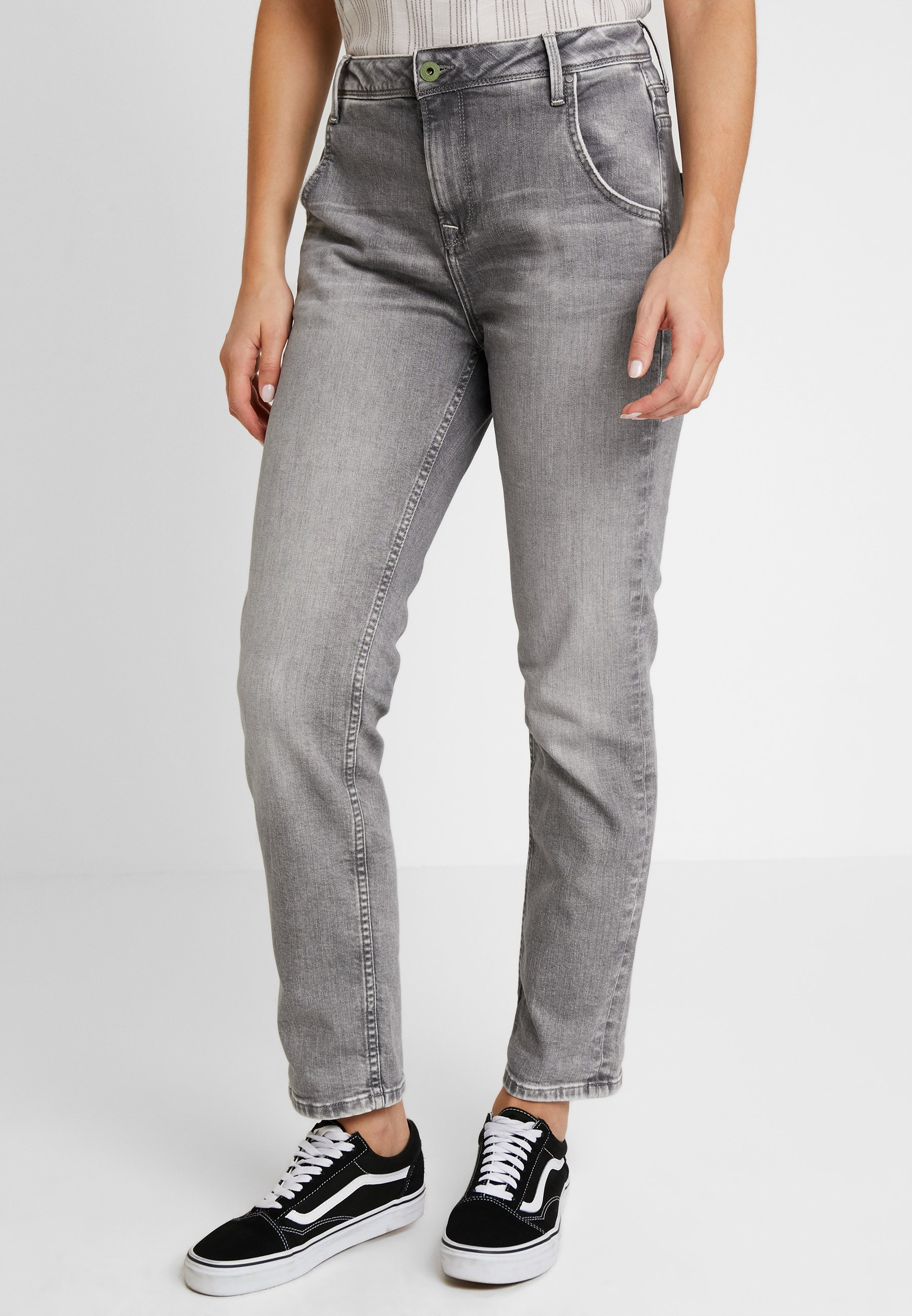 Boyfriend Wash Denim Grey Wiser HazelJean Pepe Jeans PkXiuZ