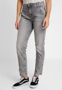 Pepe Jeans - HAZEL - Relaxed fit jeans - denim grey wiser wash - 0