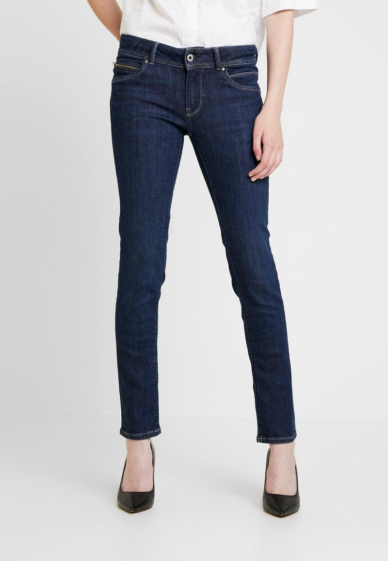Pepe Jeans - NEW BROOKE - Slim fit -farkut - dark-blue denim