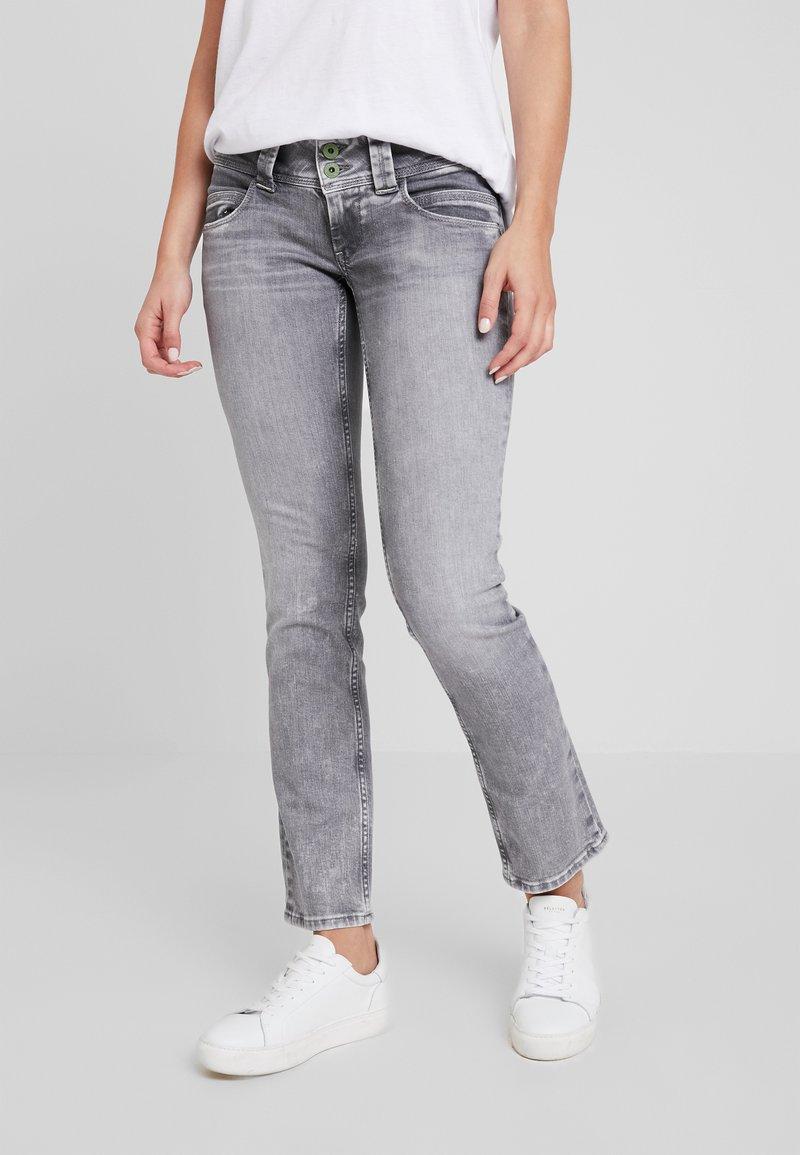 Pepe Jeans - VENUS - Straight leg jeans - denim grey wiser wash