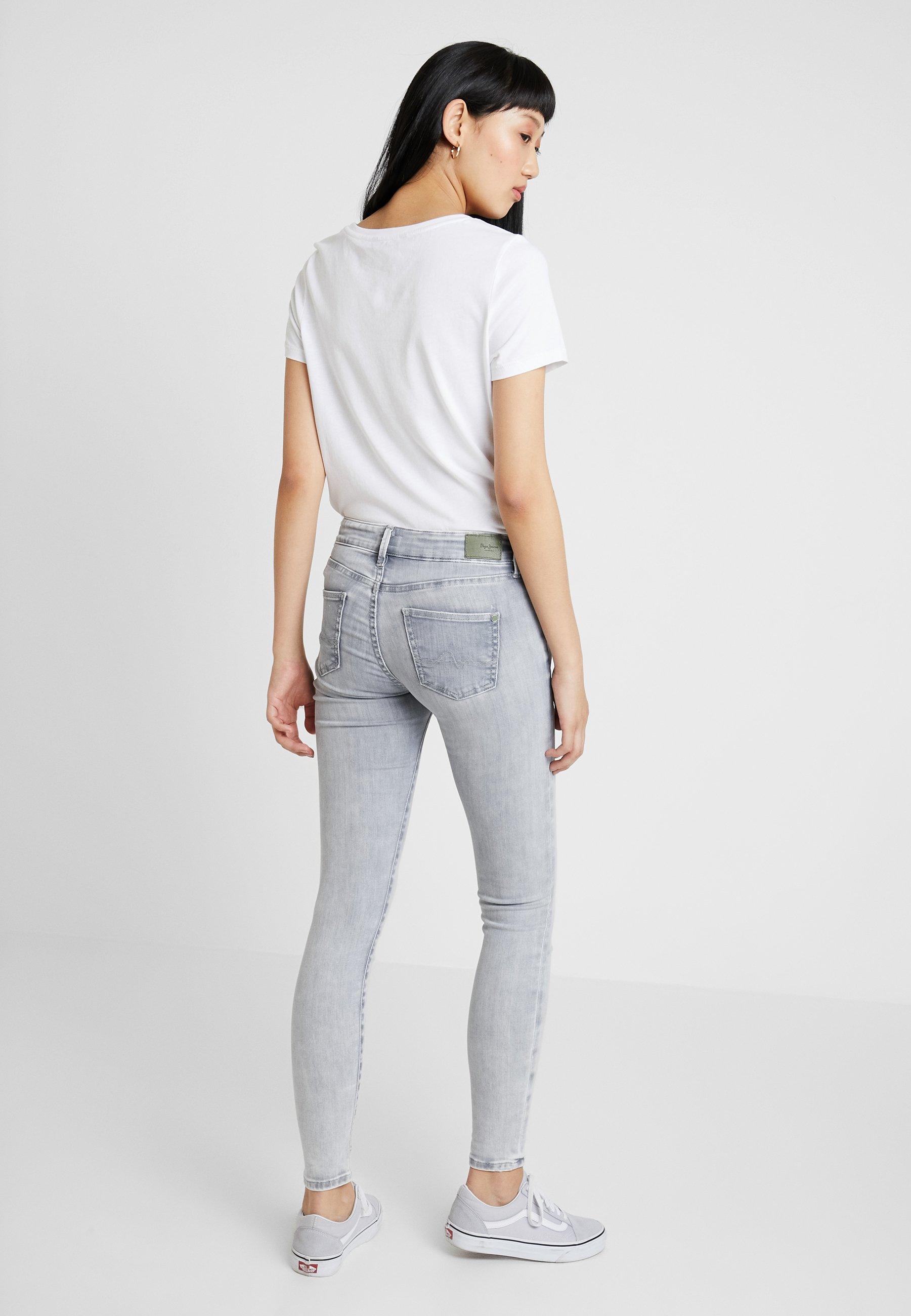 PixieSkinny Denim Wiser Grey Pepe Wash Jeans Destroy mNPy8wvn0O