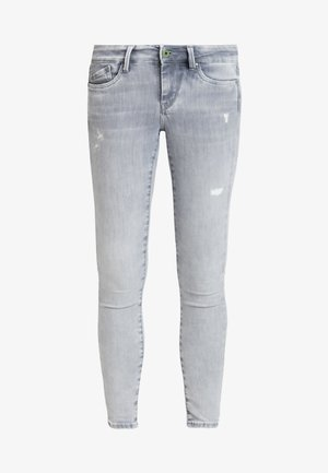 PIXIE - Jeans Skinny Fit - denim grey destroy wiser wash