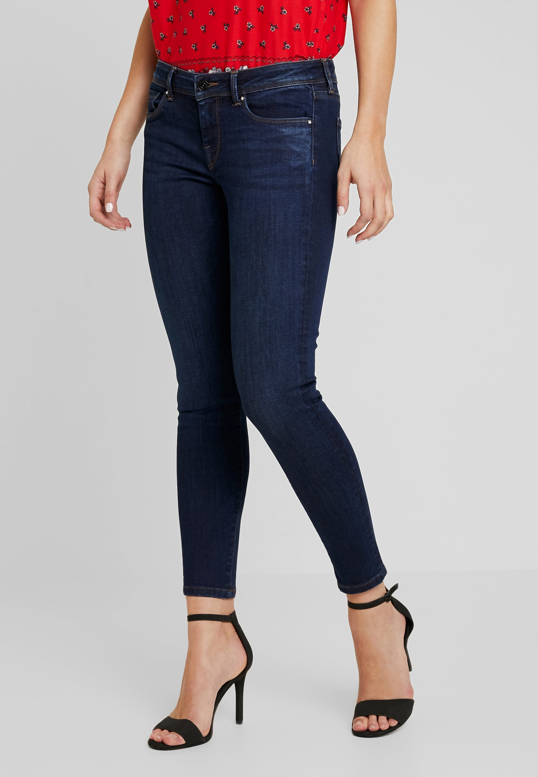 Jeans Dark Pepe Powerflex Denim Used LolaSkinny BoQWEderCx