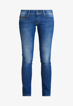 KATHA - Jeans Slim Fit - dark-blue denim